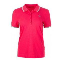 S.Oliver Koszulka Damska Polo 34 Czerwona. Czerwone bluzki damskie S.Oliver, s, z bawełny, polo. W wyprzedaży za 99,00 zł.