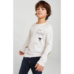 Odzież dziecięca: Mango Kids – Longsleeve dziecięcy Feliz 110-164 cm