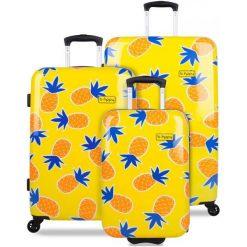 Walizki: Reabags Zestaw Walizek Podróżnych  B.Hppy Home Sweet Pineapple