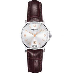 RABAT ZEGAREK CERTINA LADY QUARTZ COLLECTION. Szare zegarki damskie CERTINA, ze stali. W wyprzedaży za 963,60 zł.