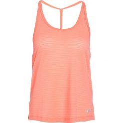Nike Performance MILER TANK Koszulka sportowa crimson pulse/heather. Brązowe t-shirty damskie Nike Performance, xl, z elastanu. Za 129,00 zł.