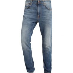 Nudie Jeans LEAN DEAN Jeansy Slim Fit blue denim. Niebieskie jeansy męskie relaxed fit Nudie Jeans. Za 579,00 zł.
