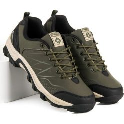 Buty zimowe damskie: Niskie buty trekkingowe AX BOXING zielone