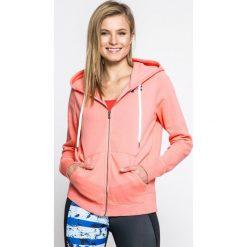 Under Armour - Bluza Favorite Fleece FZ. Różowe bluzy z kapturem damskie Under Armour, l, z bawełny. W wyprzedaży za 179,90 zł.