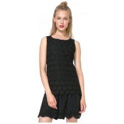 Desigual Sukienka Damska Barcelona 40 Czarny. Czarne sukienki marki Desigual. W wyprzedaży za 299,00 zł.