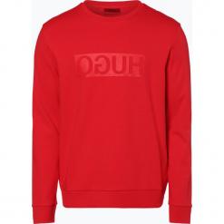 HUGO - Męska bluza nierozpinana – Dicago-U3, czerwony. Czerwone bluzy męskie rozpinane marki KALENJI, m, z elastanu, z długim rękawem, długie. Za 429,95 zł.