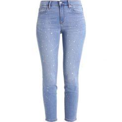 GAP Jeans Skinny Fit medium indigo. Niebieskie boyfriendy damskie GAP. W wyprzedaży za 194,35 zł.