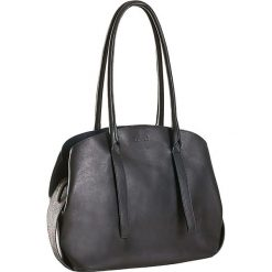Torebki klasyczne damskie: Skórzana torebka w kolorze czarnym