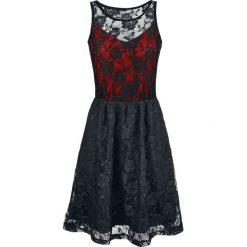 Black Premium by EMP Lady Jane Sukienka czarny/czerwony. Czarne sukienki koronkowe marki Black Premium by EMP, xl. Za 144,90 zł.