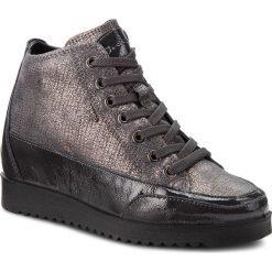 Sneakersy IGI&CO - 2160922 Antr. Szare sneakersy damskie IGI&CO, z lakierowanej skóry. W wyprzedaży za 329,00 zł.