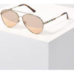 Okulary przeciwsłoneczne męskie: Burberry Okulary przeciwsłoneczne gold/brown mirror rose gold