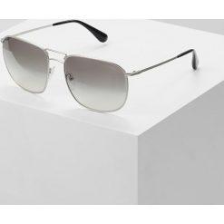 Okulary przeciwsłoneczne męskie: Prada Okulary przeciwsłoneczne matte silver / gradient grey silver