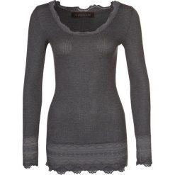 Rosemunde Bluzka z długim rękawem grau. Szare bluzki longsleeves Rosemunde, m, z bawełny. Za 369,00 zł.