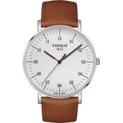 RABAT ZEGAREK TISSOT Everytime Big Gent T109.610.16.037.00. Białe zegarki męskie TISSOT, ze stali. W wyprzedaży za 836,00 zł.