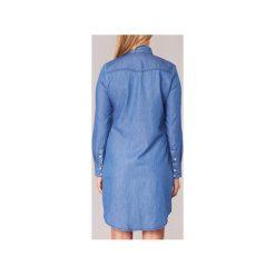 Sukienki krótkie Yurban  IHEBELLA. Niebieskie sukienki hiszpanki Yurban, l, z krótkim rękawem, mini. Za 179,10 zł.