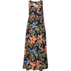 Sukienki hiszpanki: Sukienka w kwiaty bonprix czarny z nadrukiem
