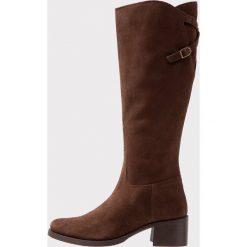 Pinto Di Blu Kozaki marron. Brązowe buty zimowe damskie Pinto Di Blu, z materiału. Za 669,00 zł.
