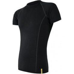 Odzież termoaktywna męska: Sensor Koszulka Sportowa Męska Active Black M