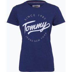 T-shirty damskie: Tommy Jeans – T-shirt damski, niebieski