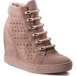 Sneakersy CARINII - B4304  L18-000-000-B88. Brązowe sneakersy damskie Carinii, ze skóry. W wyprzedaży za 269,00 zł.
