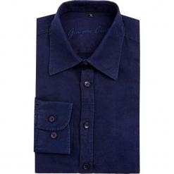 Koszula MARCO 15-12-20-K. Niebieskie koszule męskie na spinki Giacomo Conti, m, z bawełny, z klasycznym kołnierzykiem, z długim rękawem. Za 259,00 zł.