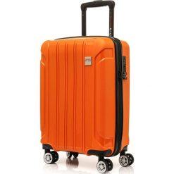Walizka Tourist II  pomarańczowa. Brązowe walizki marki SWISSBAGS. Za 434,86 zł.