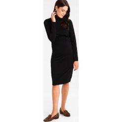 Sukienki hiszpanki: Boob JACKIE POLO NECK DRESS NURSING Sukienka z dżerseju black