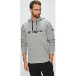 Columbia - Bluza Basic Logo II Hoodie. Szare bejsbolówki męskie Columbia, l, z aplikacjami, z bawełny, z kapturem. W wyprzedaży za 219,90 zł.