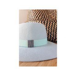Kapelusz Krysia Summer Pistachio. Niebieskie kapelusze damskie marki Jolie su, z wełny. Za 750,00 zł.