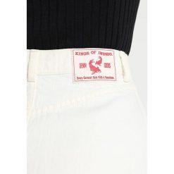 Kings Of Indigo YETTA Spódnica trapezowa white. Białe spódniczki jeansowe marki Kings Of Indigo, l, trapezowe. Za 549,00 zł.