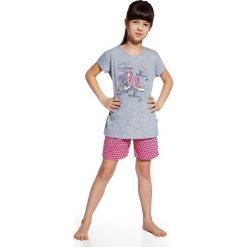 Piżama dziewczęca Shoes. Czarne bielizna chłopięca Astratex, z napisami, z bawełny, z długim rękawem. Za 59,00 zł.