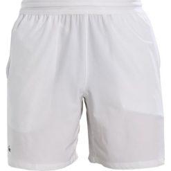 Lacoste Sport DJOKOVIC Krótkie spodenki sportowe blanc/noir. Białe bermudy męskie Lacoste Sport, z elastanu, sportowe. Za 349,00 zł.