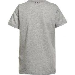 Napapijri SHADOW  Tshirt z nadrukiem light grey melange. Szare t-shirty męskie z nadrukiem marki Napapijri, l, z materiału, z kapturem. Za 129,00 zł.