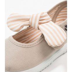 Baleriny damskie lakierowane: Victoria Shoes LONA PANUELO Baleriny z zapięciem beige