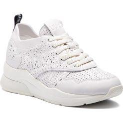 Sneakersy LIU JO - Karlie 14 B19009 P0102 White 01111. Białe sneakersy damskie Liu Jo, z materiału. Za 799,00 zł.