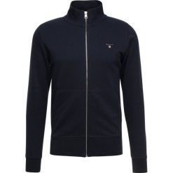 GANT ORIGINAL FULL ZIP Bluza rozpinana evening blue. Niebieskie bluzy męskie rozpinane marki GANT. Za 509,00 zł.