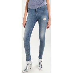 Denham NEEDLE Jeans Skinny Fit misr. Niebieskie boyfriendy damskie Denham, z bawełny. Za 629,00 zł.