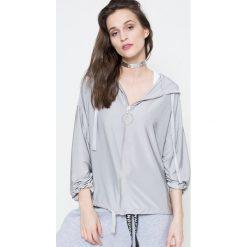 Missguided by Jourdan Dunn - Bluza. Szare bluzy z kapturem damskie marki Missguided, s, z elastanu. W wyprzedaży za 79,90 zł.