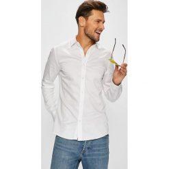 Only & Sons - Koszula. Szare koszule męskie na spinki Only & Sons, m, z bawełny, z włoskim kołnierzykiem, z długim rękawem. W wyprzedaży za 119,90 zł.