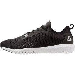 Reebok FLEXAGON TR Obuwie treningowe black/white/silver. Czarne buty sportowe damskie Reebok, z materiału. Za 379,00 zł.
