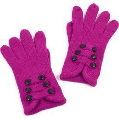 Rękawiczki damskie: Art of Polo Rękawiczki damskie sześć guziczków różowe (rk2606)