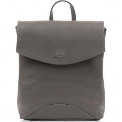 Plecak damski Włoski ze skóry naturalnej Szary. Szare plecaki damskie Paolo Peruzzi, ze skóry, vintage. Za 299,00 zł.