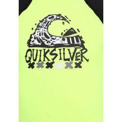 Quiksilver BUBBLESPRINGKID Kostium kąpielowy safety yellow/black. Czarne stroje jednoczęściowe dziewczęce Quiksilver, z elastanu. Za 129,00 zł.