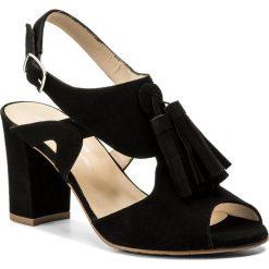 Rzymianki damskie: Sandały BRENDA ZARO – T2563 Black