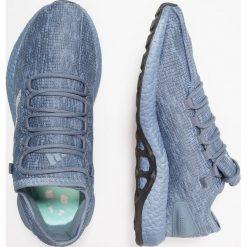 Adidas Performance PUREBOOST Obuwie do biegania neutralne raw steel/light solid grey/clear mint. Szare buty do biegania męskie adidas Performance, z materiału. Za 679,00 zł.