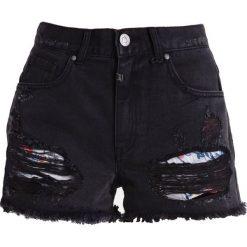 Bermudy damskie: Tigha GINA Szorty jeansowe black