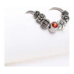 Biżuteria i zegarki damskie: Srebrno-Czerwona Bransoletka Harmony