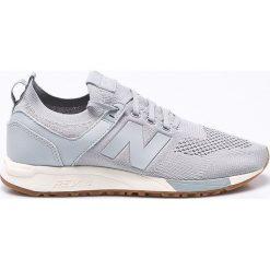 New Balance - Buty MRL247DS. Szare buty skate męskie New Balance, z gumy, na sznurówki. W wyprzedaży za 239,90 zł.