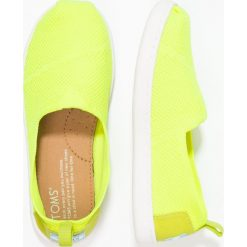 Creepersy damskie: TOMS Półbuty wsuwane yellow