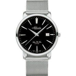 Zegarek Atlantic Męski Super De Luxe 64356.41.61 Mesh Szafir srebrny. Szare zegarki męskie Atlantic, srebrne. Za 1563,99 zł.